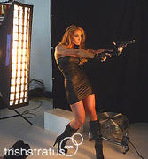 Trish Stratus Bail Enforcers promo shoot x6