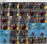 Debbe Dunning - taking care of the dolphins in Boy Meets World - 2 clips