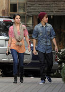 th 55628 Selena16 123 233lo Selena Gomez   at a restaurant in Hollywood 01/10/2012