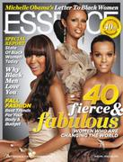 Naomi Campbell, Iman,Liya Kebede-Essence cover+3 different pictures
