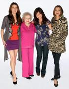 Jane Leeves, Valerie Bertinelli, Wendie Malick, Betty White -- Hot in Cleveland cast photos