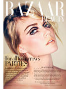 Lindsay Ellingson - Harper's Bazaar UK - Dec 2012 (x4)