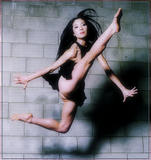 Oldie but a Goody: Asian Actress Michelle Yeoh in Mid-air Split