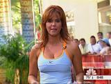 Maria Celeste -On NBC Today Show - Slit skirt, Cleavage, Working Out - VideoClips